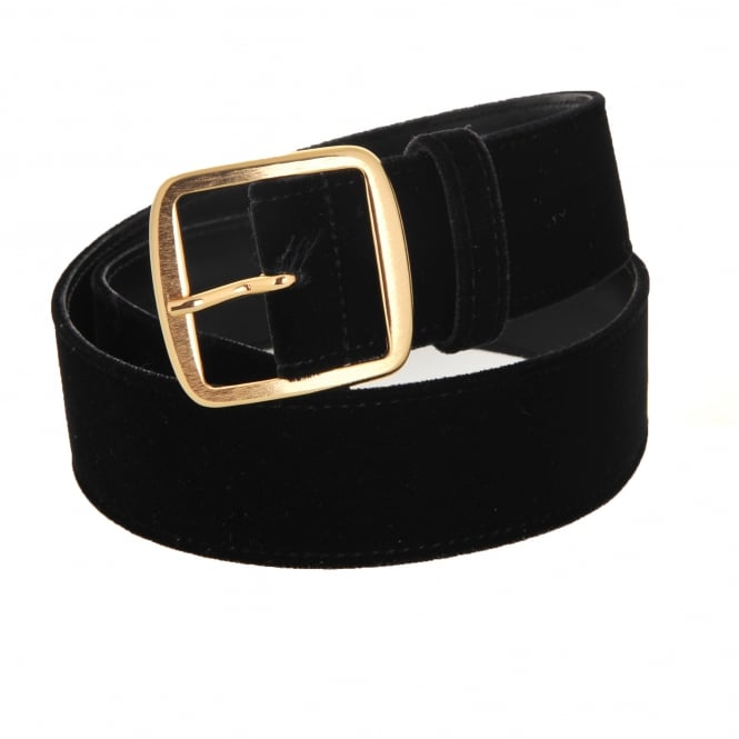 Philosophy Di Lorenzo Serafini Black Velvet Belt