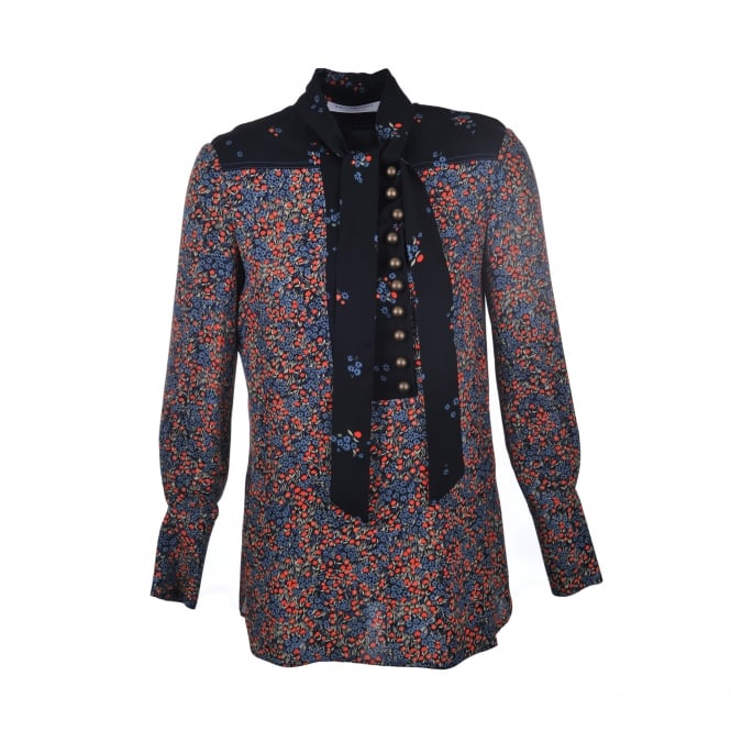 Philosophy Di Lorenzo Serafini Floral Button Detail Top