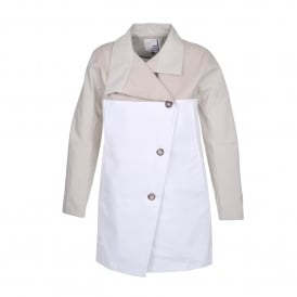 Melody Vag Coat in Beige/Putty