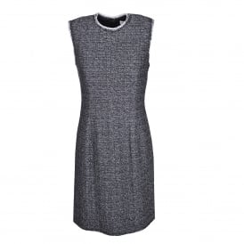 Textured Tweed Dress