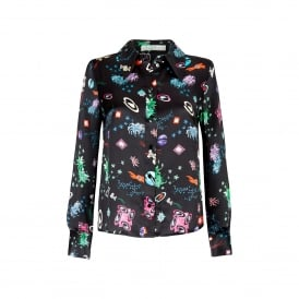Jamie Space Age Floral Shirt