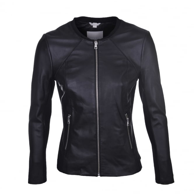 Soia & Kyo Rylee Leather Jacket in Black