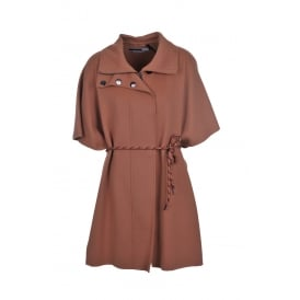 Sportmax Code Emblema Coat in Honey