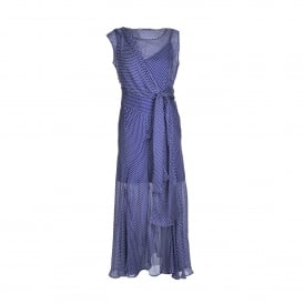 Rito Silk Chiffon Maxi Dress