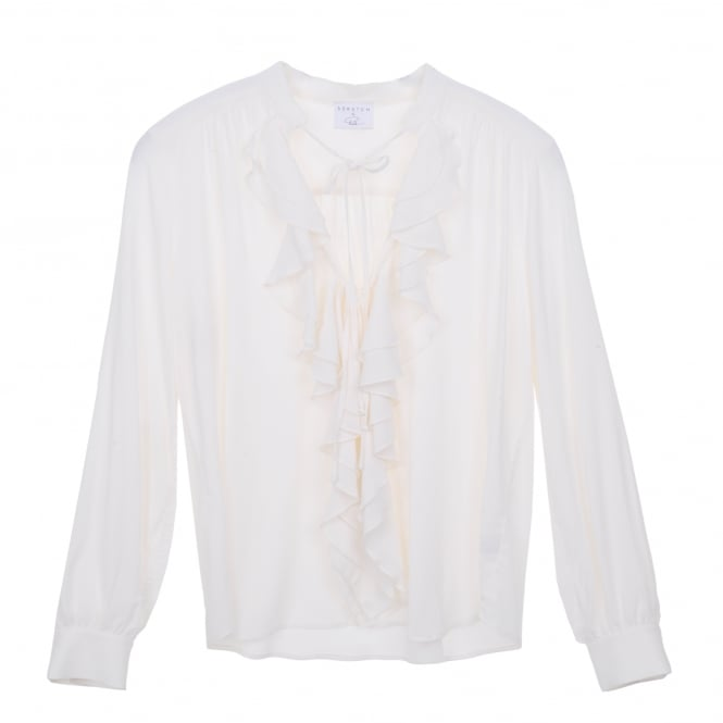 Palermo Frill Front White Top
