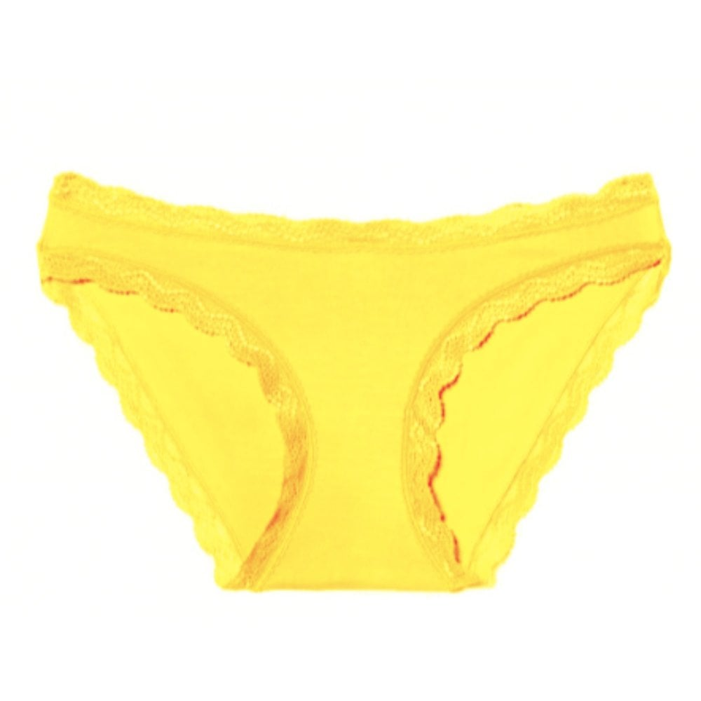 los angeles on feet shots of online shop Neon Yellow Knickers