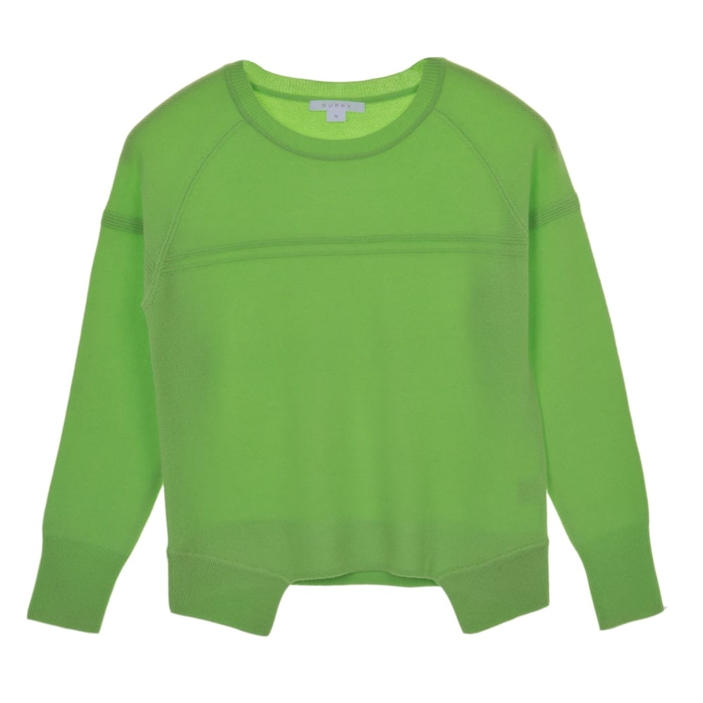 Duffy sweater in apple green clothing from stanwells uk for Apple green dress shirt