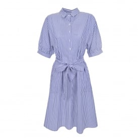 Penelope Cotton Stripe Dress