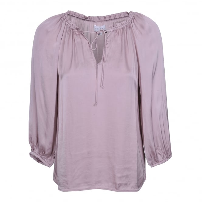Velvet by Graham & Spencer Rana Top in Blush