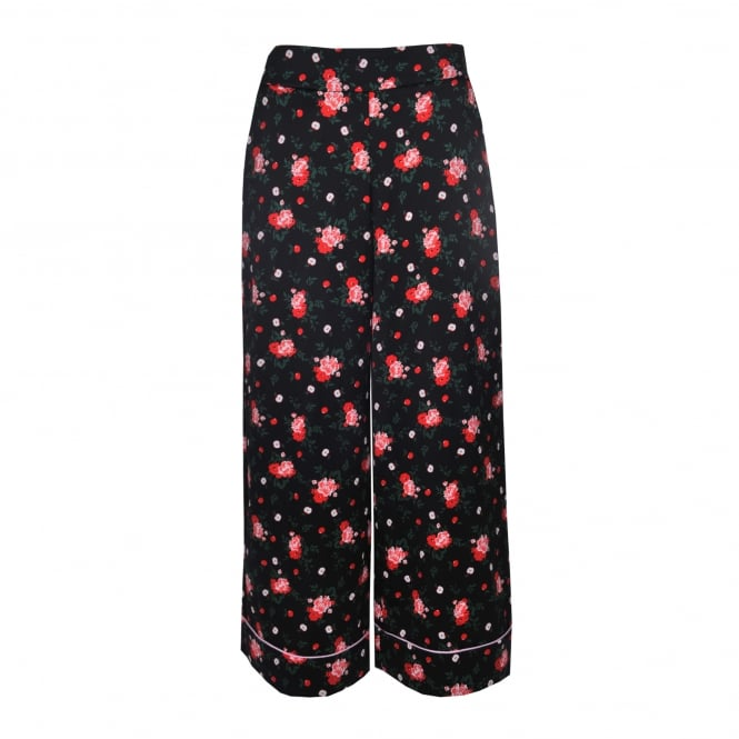 Vivetta Bangui Wide Lag Pant with Flowers