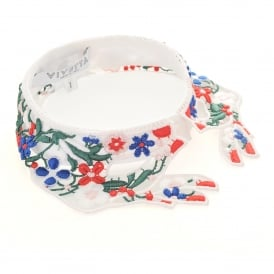Brunei Multi Coloured Lace Collar